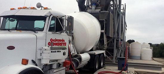 Ready mix concrete additives and services in OC & LA