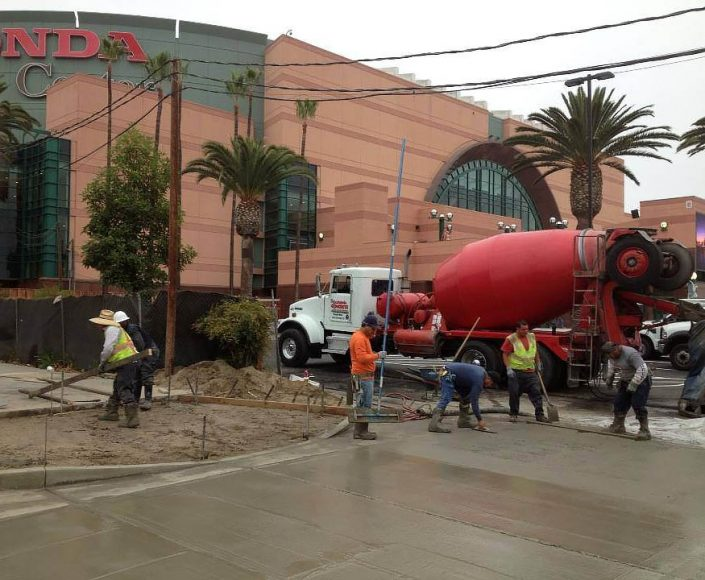 Commercial Concrete Services Orange County
