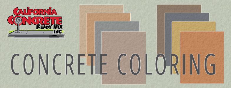Colored Concrete Services in Orange County, CA